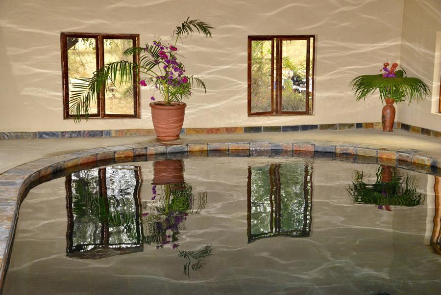 Makutsi indoor pool