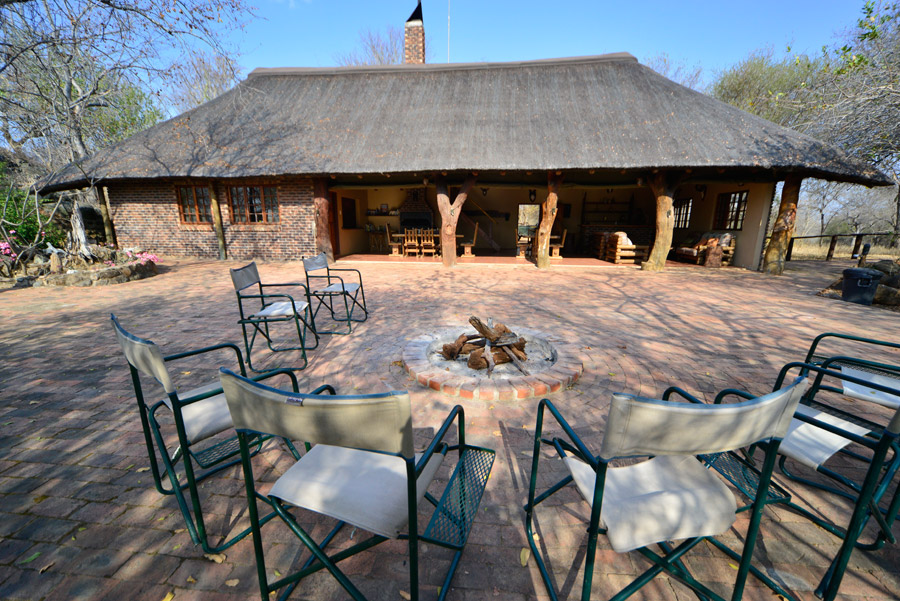 Makutsi Tented Camp restaurant