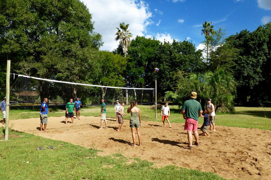 Makutsi Volleyball Court